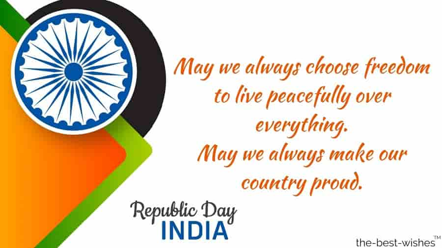 republic day india message