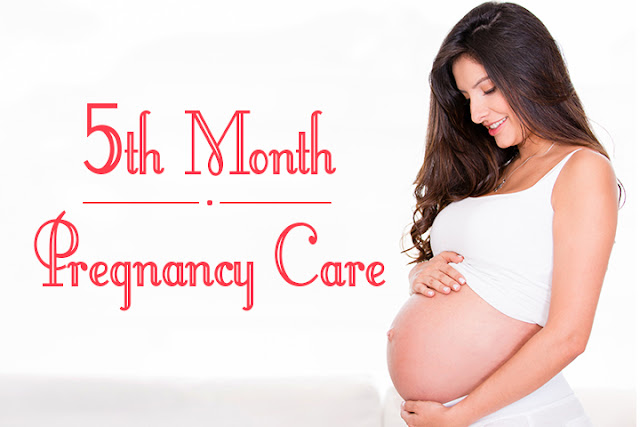 In the fifth month of pregnancy