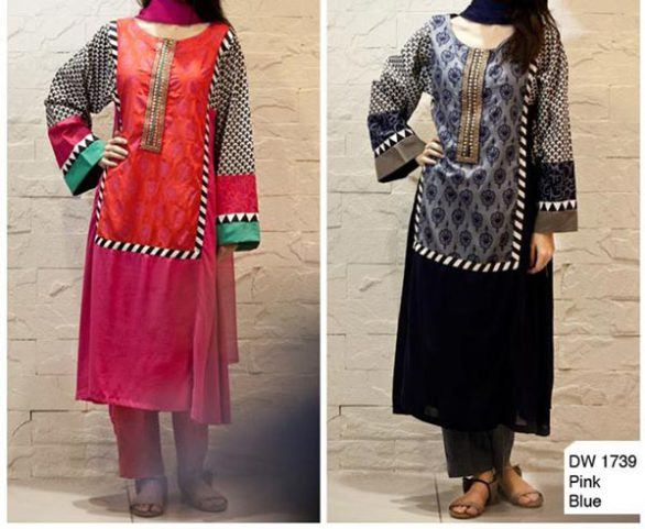 460c2c1e76 MARIA.B later, cotton gauze dresses party and wedding wear Designs  Collection 2014 2015 Net with the price. Embroidered Shalwar Kameez and  Frock for girls ...