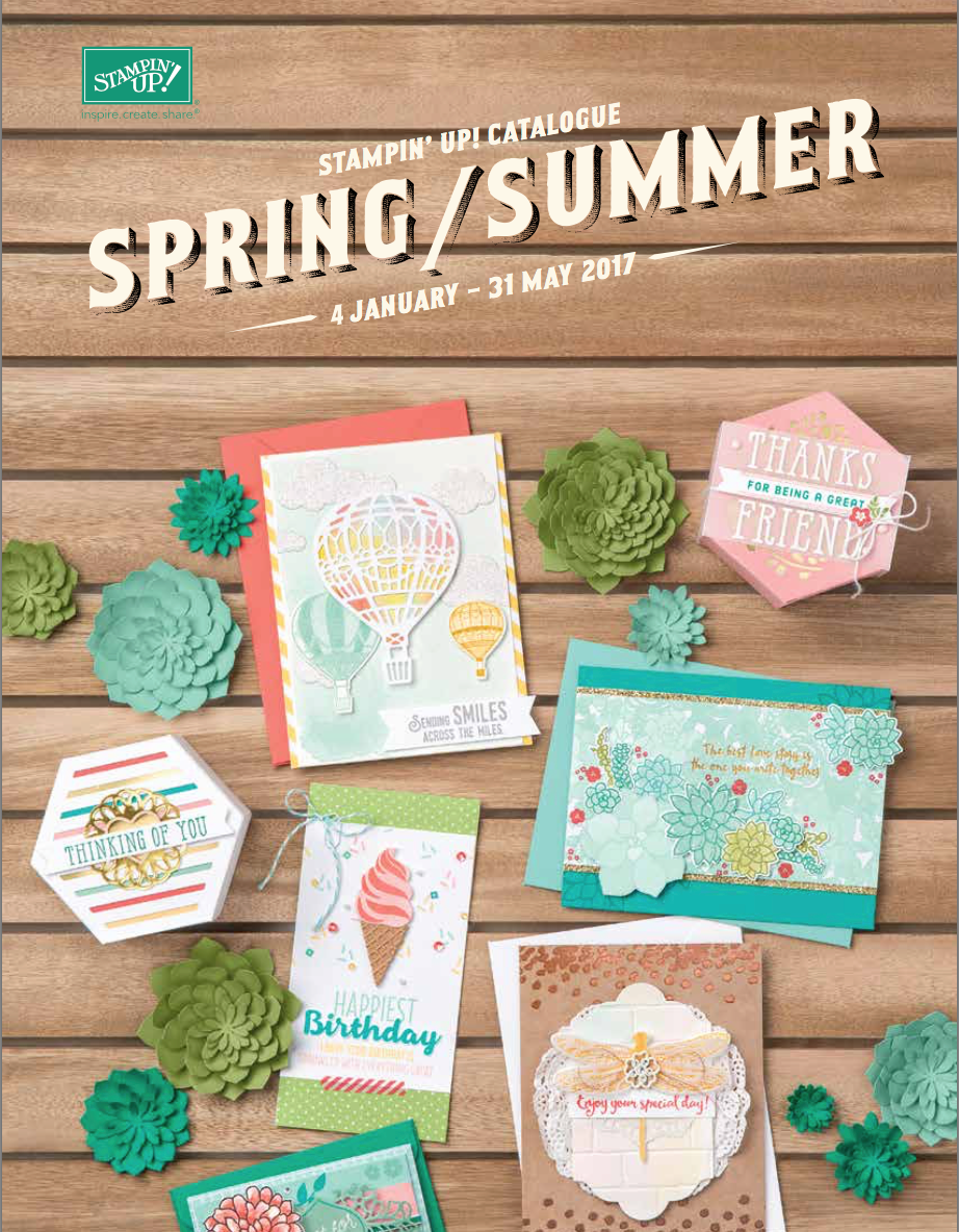 Stampin' Up! Lente/Zomer catalogus