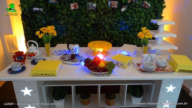 Decoração provençal de festa de adultos Chá da Tarde