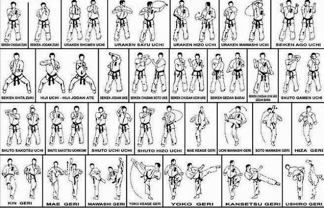 Kihon / Gerakan Dasar Karate