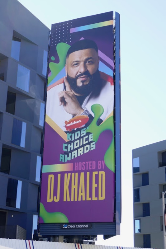 Kids Choice Awards DK Khaled billboard