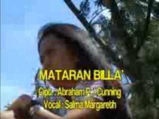Lirik Lagu Toraja Mataran Billa' (Salma Margareth)