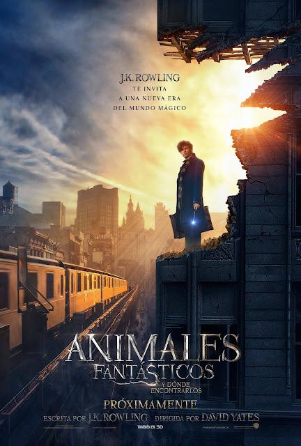 Ver Fantastic Beasts and Where to Find Them Online (2016) Animales Fantásticos y dónde encontrarlos Gratis HD Pelicula Completa