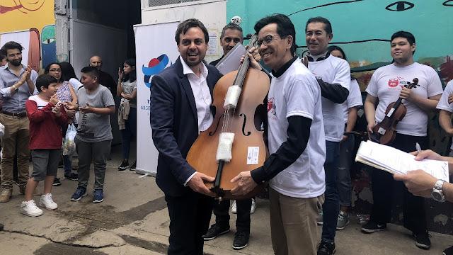 La Embajada de Japón refuerza su apoyo al barrio Los Piletones