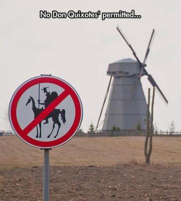 Funny interdiction sign