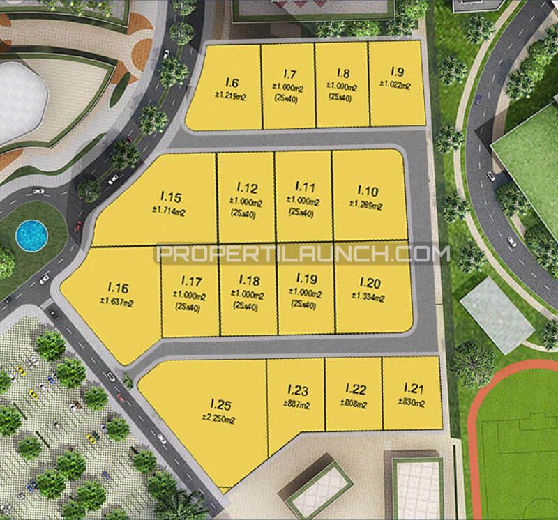 Site Plan Kavling Dormitory Intermoda BSD