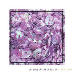 LUMINOUS LAVENDER Sequins