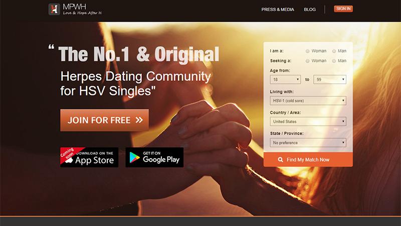 Herpes-dating-sites kostenlos uk