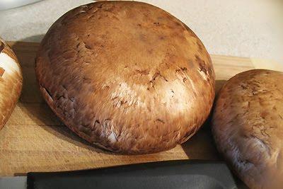 """Portobello Quinoa Stuffed """"Sandwich"""""""