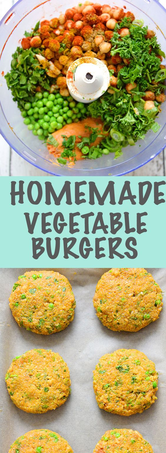 Crispy on the outside and cooked to perfection. These veggie burgers are the ultimate healthy comfort food.