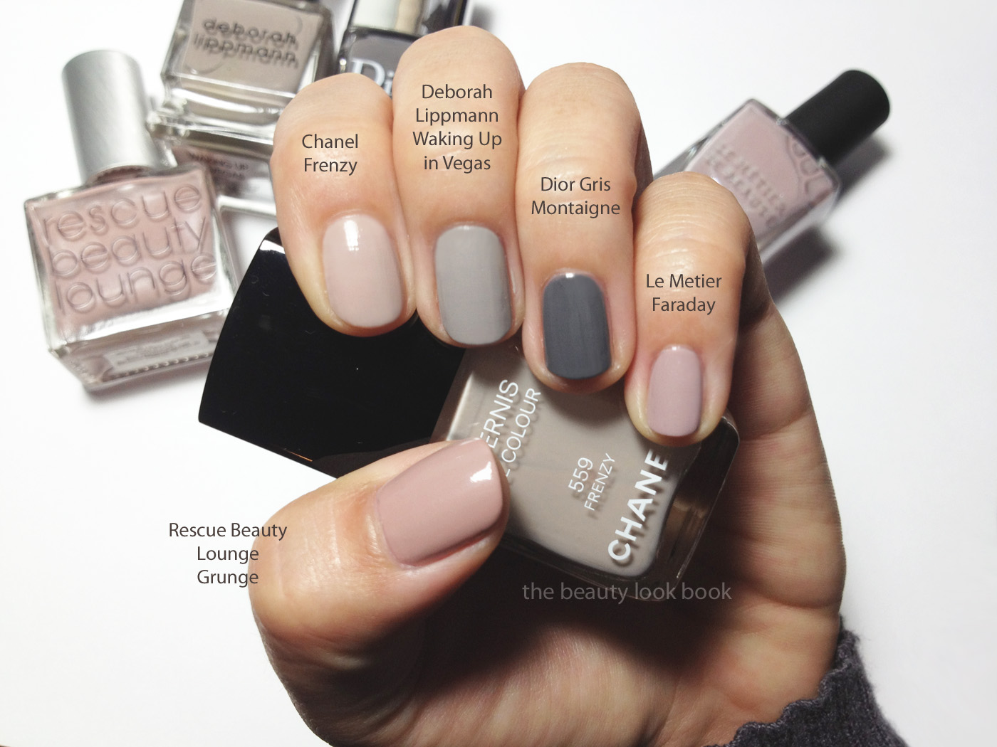 Chanel Frenzy 559 Le Vernis Fall 2012 The Beauty Look Book