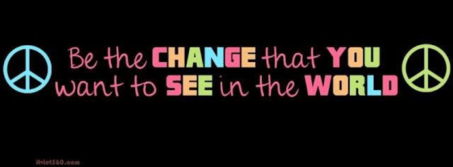 Ảnh bìa Facebook đẹp - Cover FB change