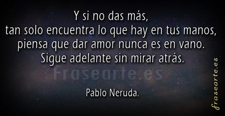 Frases de amor de Pablo Neruda