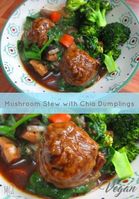 My General Life - Mushroom Stew 2 - Indigo Herbs - Vegan - Recipe