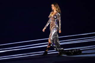 , The World's Highest-paid Model Gisele Bundchen sparkled at the 2016 Olympic Opening Ceremony, Latest Nigeria News, Daily Devotionals & Celebrity Gossips - Chidispalace