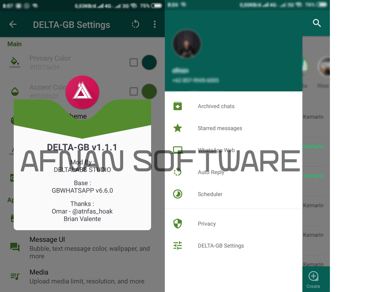 GB Whatsapp Delta MOD APK Versi 1 1 1 Terbaru 2019