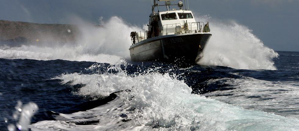 Σήμα κινδύνου από αλιευτικό σκάφος στην Ιερισσό