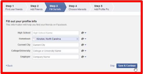 Facebook Login Create New Account