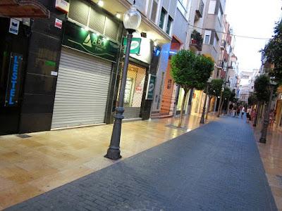 Calle Mayor de Vinaros