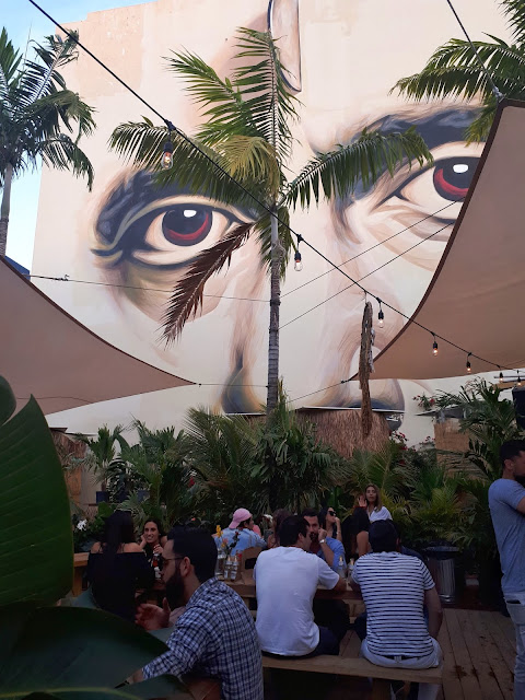 Terraza Food and Garden en el barrio de Wynwood