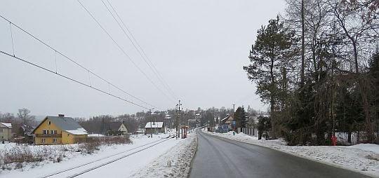 Wieś Skawa.