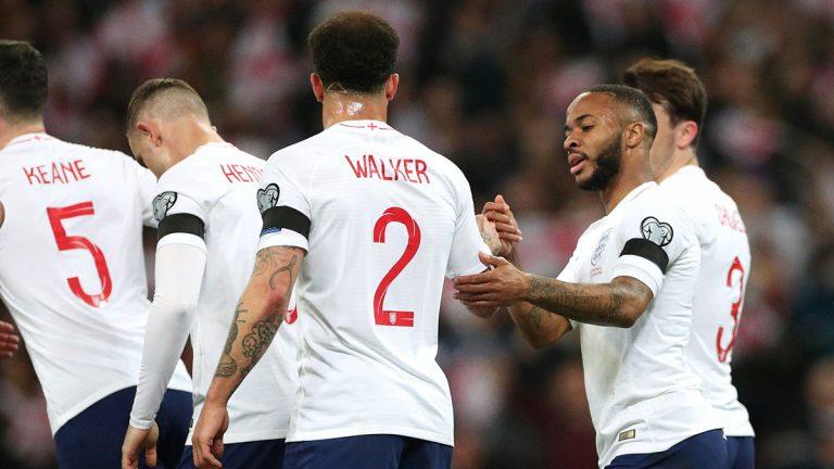 موعد مباراة إنجلترا والجبل الأسود والقنوات الناقلة للمباراة