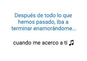 anny Ocean Cuando Me Acerco A Ti significado de la canción.