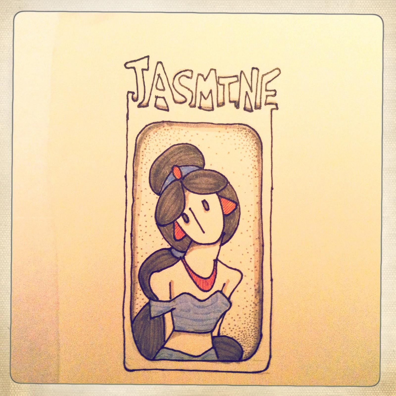 Disney Hipster Blog: A Couple Disney Princess Drawings...