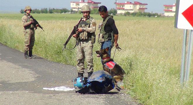 Aşağıkonak ile Yaprakbaşı arasındaki yola tuzaklanmış bomba düzeneği bulundu