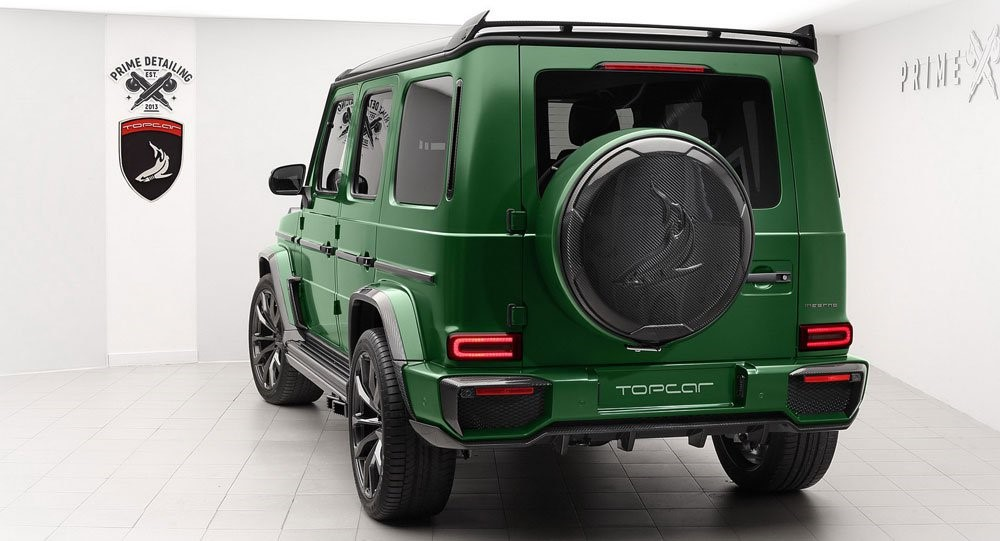 New Mercedes G-Class Inferno by TopCar - MS+ BLOG