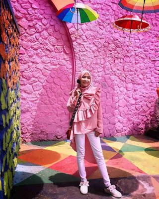 Selfie Corner Kampung Jodipan