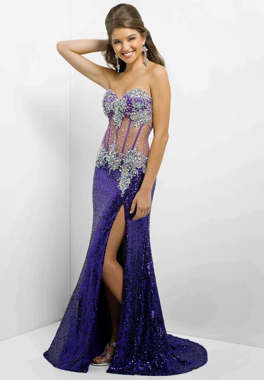 Bonitos Vestidos Vestido Largos Moda Fiesta Elegante Para De