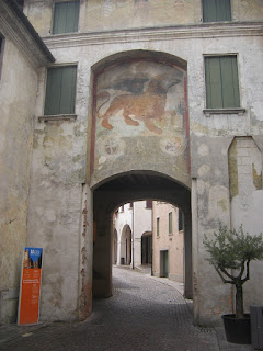 One of Conegliano's ancient gates