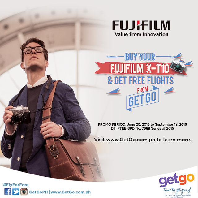 Buy a FujiFulm X-T10 Camera and Get 5,000 GetGo Points for FREE