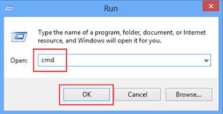 open cmd by shortcut key
