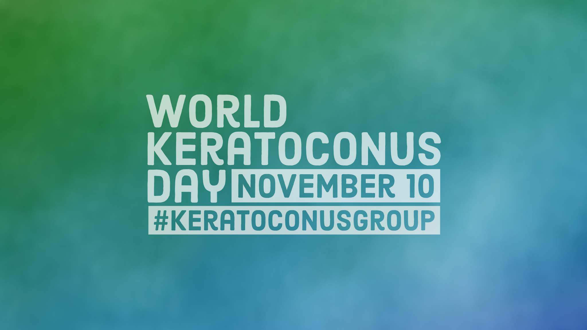 World Keratoconus Day 2019 Desktop or Tablet Wallpaper
