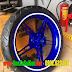 Sơn mâm xe Exciter 150 (Ex150) màu xanh GP cực đẹp