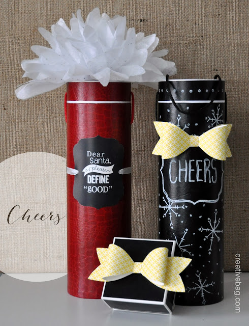wine bottle containers | creativebag.com