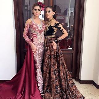 Gaun Kebaya Batik 2017