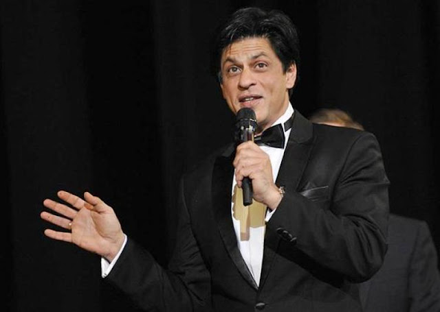 superstar Shah Rukh Khan Crystal Awards