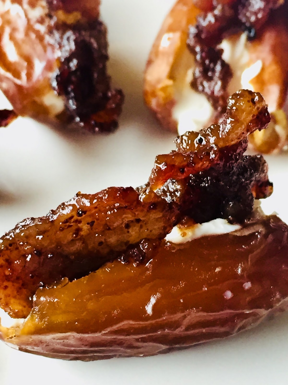 Brown Sugar Bacon & Date Appetizer