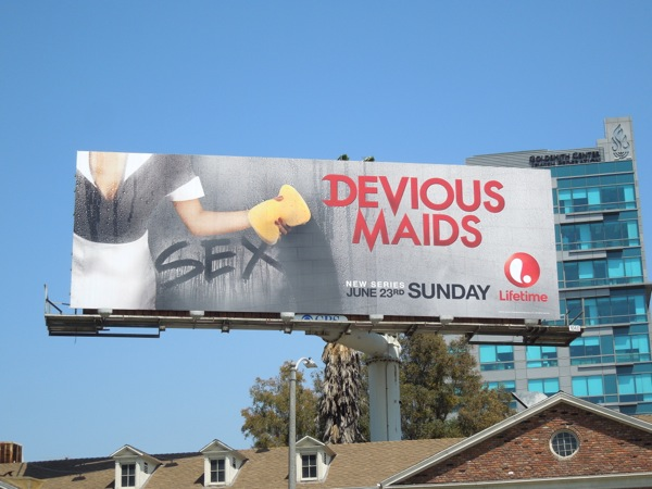 Devious Maids season 1 Sex billboard