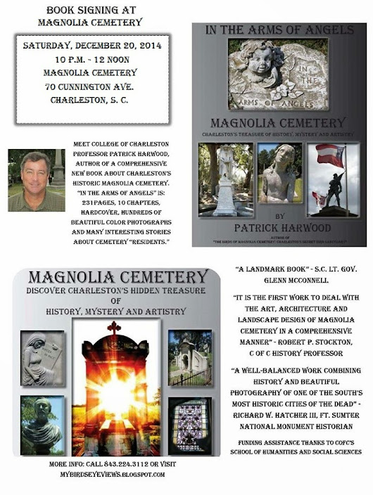 BOOK SIGNING AT MAGNOLIA CEMETERY