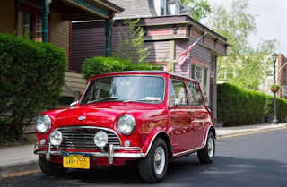 BMC Mini Cooper Classic Car Front
