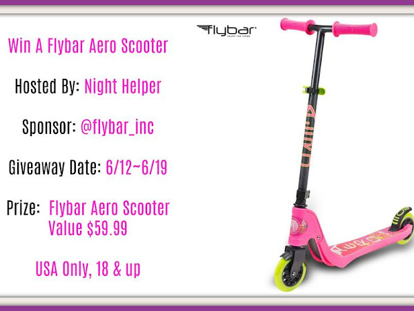 Flybar Aero Scooter #Giveaway