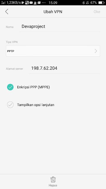 Ternyata ini Cara Menggunakan VPN tanpa Software