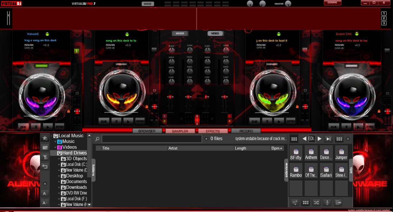 VIRTUAL DJ SKINS MEGA PACK ZIP FREE DOWNLOAD | Zone Cracked