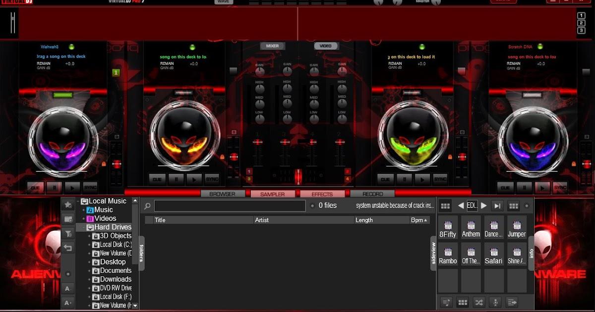 VIRTUAL DJ SKINS MEGA PACK ZIP FREE DOWNLOAD | Zone Cracked